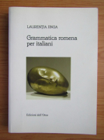 Anticariat: Laurentia Jinga - Grammatica romena per italiani