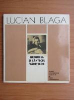 Anticariat: Radu Carpinisianu - Lucian Blaga. Hronicul si cantecul varstelor. Album documentar