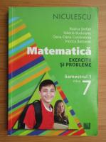 Anticariat: Rozica Stefan - Matematica. Exercitii si probleme. Clasa a VII-a, semestrul I (2013)