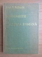 Anticariat: Vasile Malinschi - Economistii la Academia Romana (volumul 1)