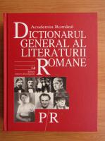 Academia Romana. Dictionarul general al literaturii romane. P-R (volumul 5)
