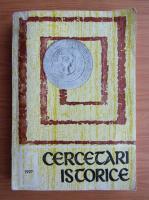 Cercetari istorice (volumul 16)