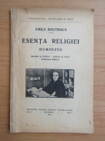 Anticariat: Emile Boutroux - Esenta religiei. Dumnezeu (1924)