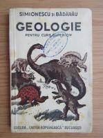 I. Simionescu - Elemente de geologie pentru curs superior (1946)