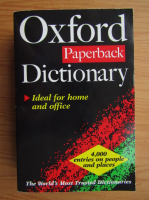 Anticariat: Oxford Paperback Dictionary