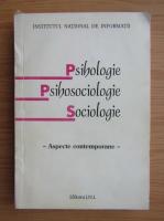 Anticariat: Psihologie, psihosociologie, sociologie