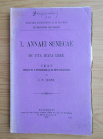 Anticariat: Seneca - De vita beata liber (1909)