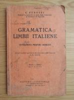 C. Perussi - Gramatica limbii italiene (1938)