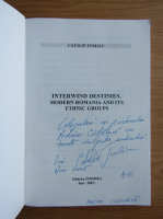 Anticariat: Catalin Turliuc - Interwind Destinies (cu autograful autorului)