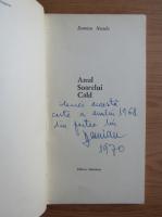 Anticariat: Damian Necula - Anul soarelui cald (cu autograful autorului)