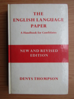 Denys Thompson - The english language paper