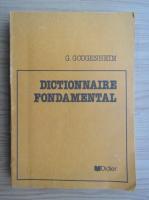 Anticariat: Georges Gougenheim - Dictionnaire fondamental de la langue francaise