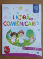 Anticariat: Nina Beldie - Limba si comunicare. Caiet de activitati pentru grupa mare