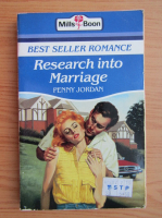 Anticariat: Penny Jordan - Research into marriage