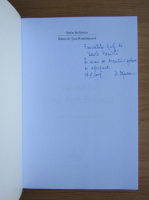 Anticariat: Stefan Stefanescu - Bania in Tara Romaneasca (cu autograful autorului)