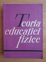 Anticariat: Teoria educatiei fizice