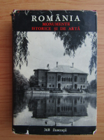Anticariat: Victor H. Adrian - Romania. Monumente istorice si de arta