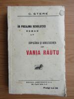 Anticariat: C. Stere - in preajma revolutiei (volumul 2, 1927)