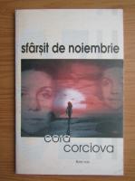 Cora Corciova - Sfarsit de noiembrie