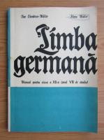 Ilse Chivaran Muller - Limba germana. Manual pentru anul VIII de studiu
