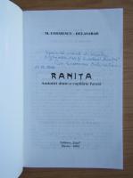 Anticariat: M. Cosmescu Delasabar - Ranita. Amintiri dintr-o copilarie furata (cu autograful autorului)