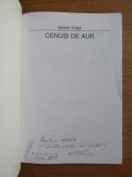 Anticariat: Maria Toma - Cenusi de aur (cu autograful autoarei)