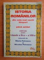 Anticariat: Nicolae Petrescu - Istoria romanilor din cele mai vechi timpuri pana astazi