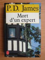 P. D. James - Mort d'un expert