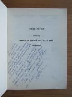 Anticariat: Petre Petria - Valcea. Oameni de stiinta, cultura si arta. Dictionar (cu autograful autorului)