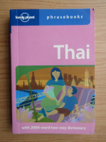 Anticariat: Thai with 2000 word two way dictionary