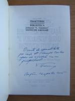 Anticariat: Viorel Frincu - Biblioteca Judeteana V. Voiculescu, institutie editoare (cu autograful autorului)