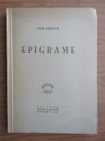 Anticariat: Don Bartolo - Epigrame (1947)
