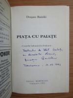Anticariat: Dusan Baiski - Piata cu paiate (cu autograful autorului)