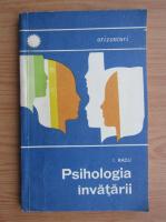 I. Radu - Psihologia invatarii