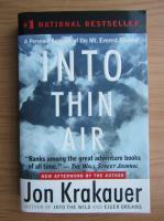 Jon Krakauer - Into thin air