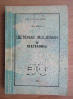 Anticariat: Lidia Brebene - Dictionar rus-roman de electronica