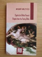 Anticariat: Munir Mezyed - Capitol din Biblia Poeziei (editie bilingva)