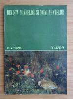Anticariat: Revista muzeelor si monumentelor, nr. 8, 1978