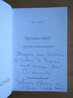 Anticariat: Silvia Obreja Cernichevici - Fascinatia valorii (cu autograful autoarei)