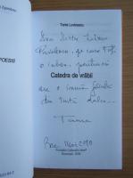 Tania Lovinescu - Catedra de vrabii (cu autograful autoarei)