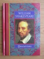 Anticariat: William Shakespeare - Quotations