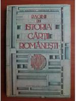 Dan Simonescu - Pagini din istoria cartii romanesti