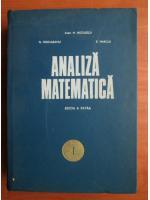 Anticariat: Miron Nicolescu - Analiza matematica (volumul 1)