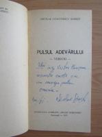 Nicolae Sinesti - Pulsul adevarului (cu autograful autorului)