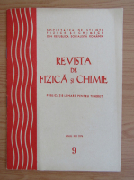 Anticariat: Revista de Fizica si Chimie, anul XIII, nr. 9, septembrie 1976