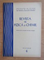 Anticariat: Revista de Fizica si Chimie, anul XIV, nr. 6, iunie 1977
