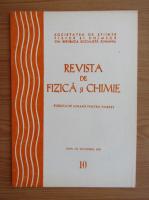 Anticariat: Revista de Fizica si Chimie, anul XV, nr. 10, octombrie 1978