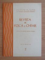 Anticariat: Revista de Fizica si Chimie, anul XV, nr. 2, februarie 1978