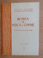 Anticariat: Revista de Fizica si Chimie, anul XV, nr. 7, iulie 1978