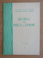 Anticariat: Revista de Fizica si Chimie, anul XVI, nr. 7, iulie 1979